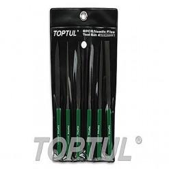 TOPTUL Standard Needle File Set 160mm Length TOPTUL GNBA0601