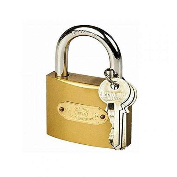 Door Lock Shutter - 2 Keys - Hardened Padlock