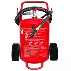 Mobiak Fire Extinguisher Trolley Type - 50KG DCP