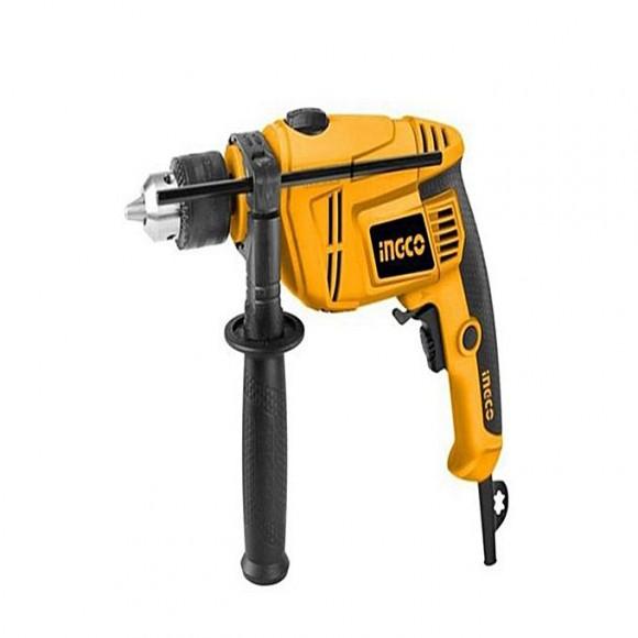 Ingco Electric Drill Machine - 650W - 13mm - Yellow