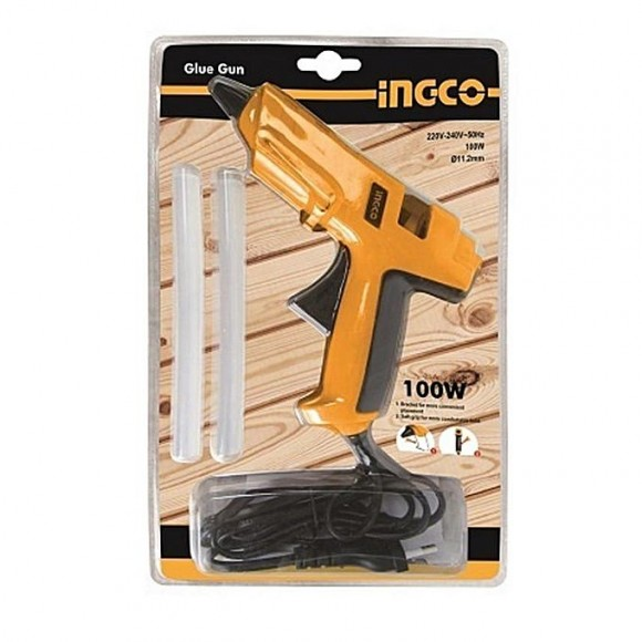 Ingco Electric Glue Gun with Two Glue Stick - 100w