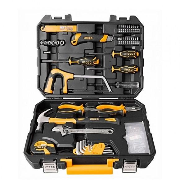 Ingco Tool Kit - 117Pcs - Black & Yellow