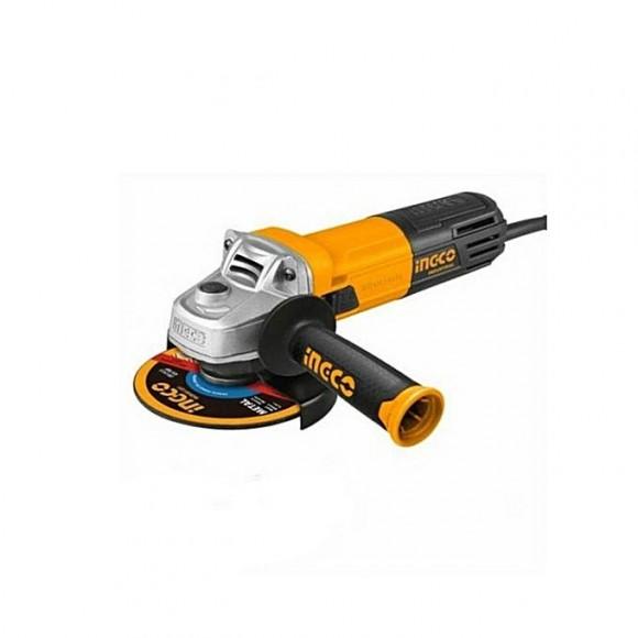 Ingco Angle Grinder - 710w - Yellow & Black