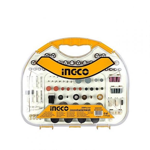 Ingco 250 Pcs Accessories Of Mini Drill