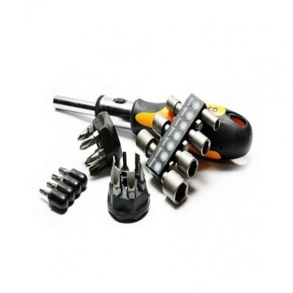 Ingco 24Pcs Screw Dirver Set - Black & Orange