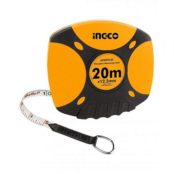 Ingco Fibreglass Measuring Tape - Yellow