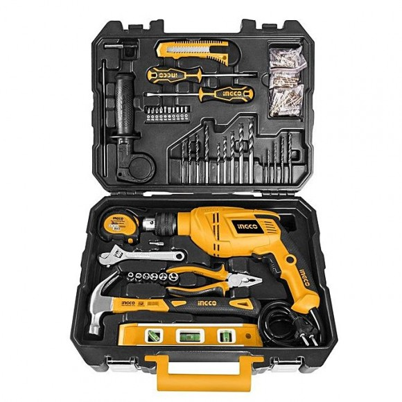 Ingco Professional Tool Set - 101 Pcs - Black & Yellow