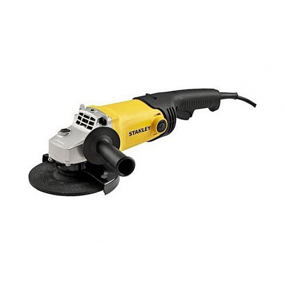 Stanley Sgm146 1400W 125Mm Angle Grinder-Yellow & Black