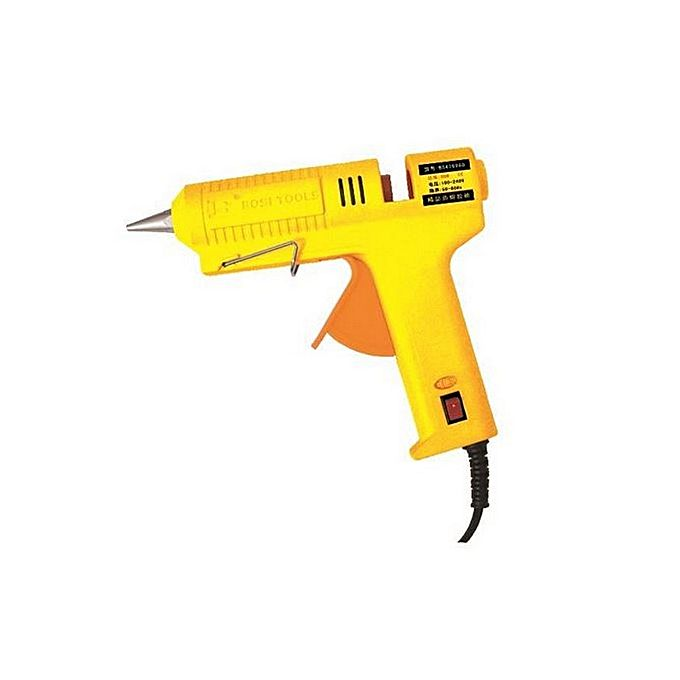 Buy Bosi Bs H6960 Glue Gun 60W Yellow At Best Price In