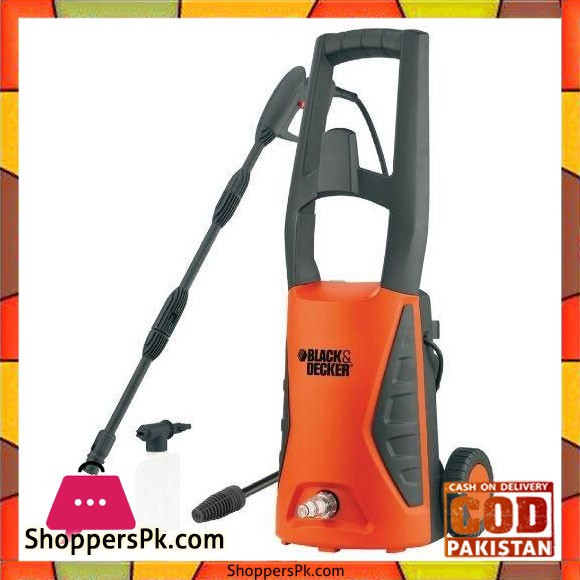Black & Decker Pressure Washer - 1400W - PW1400TDK