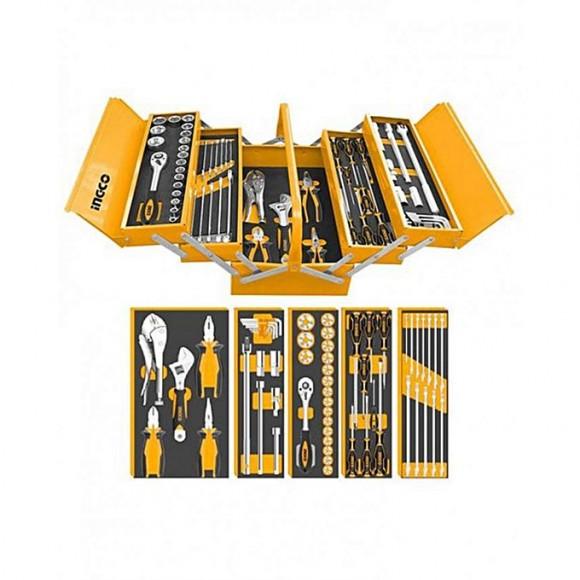 Ingco HTCS15591 - 59Pcs Tool Set - Black & Orange