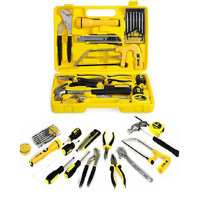 Buy Bosi Tool Kit 21 Pcs Black U0026 Yellow At Best Price
