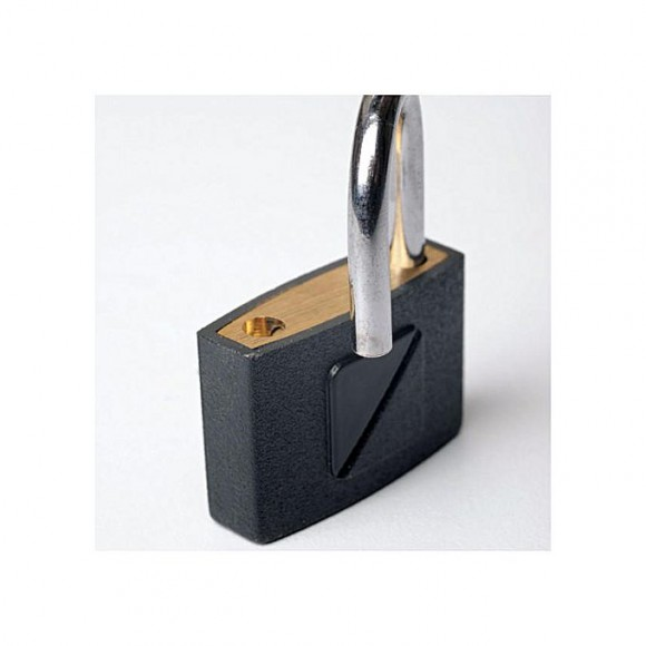 Travel Blue 025 - Lugage Padlock 30mm - Black