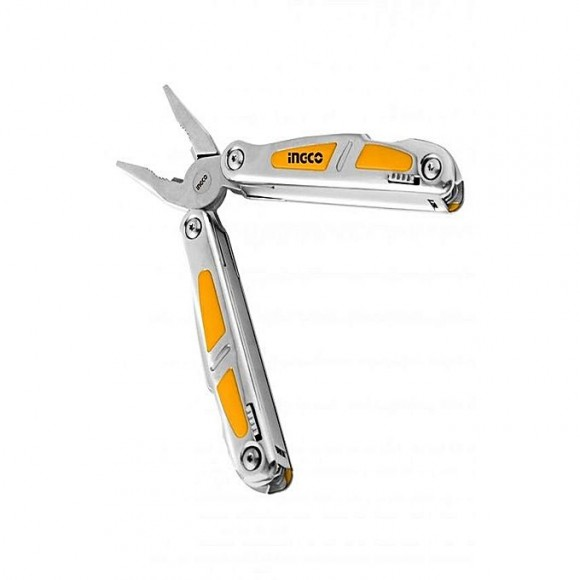 Ingco Foldable Multifunction Tool - Silver
