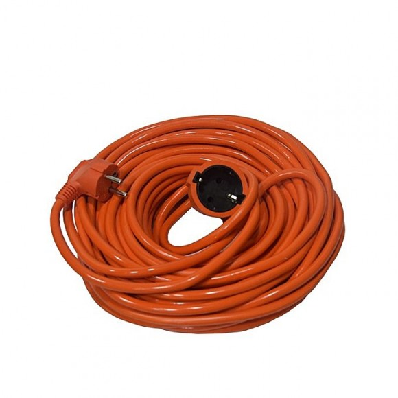 Zapple 67 Feet Indoor Outdoor Heavy Duty Power Extension Cord - Orange