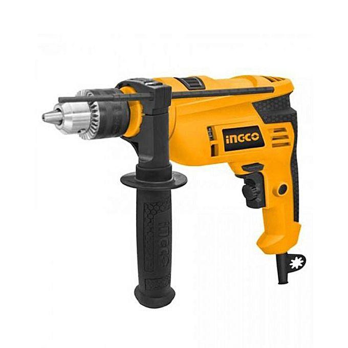 Buy Ingco Electric Impact Drill Machine - 650W - Yellow at ...
