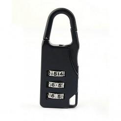 Padlock For Bag - Black