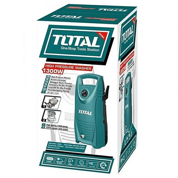 Total High Pressure Car Washer - 1300 Watts - TGT1131