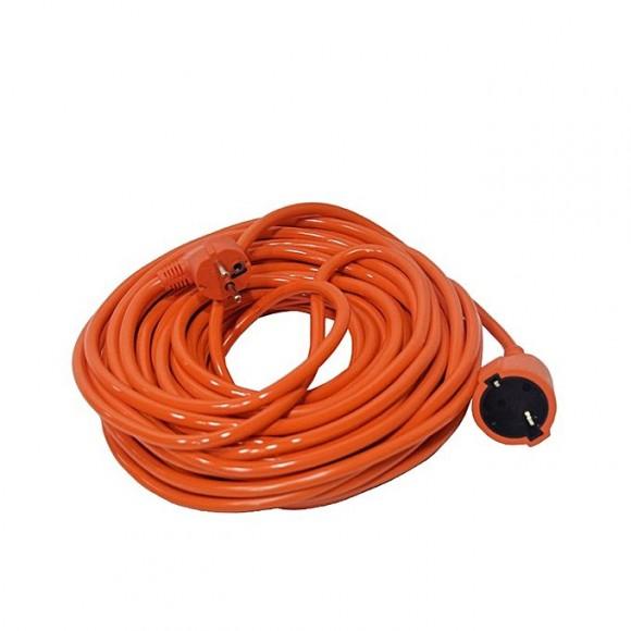 Zapple 67 Feet Indoor Outdoor Heavy Duty Power Extension Cord - Orange