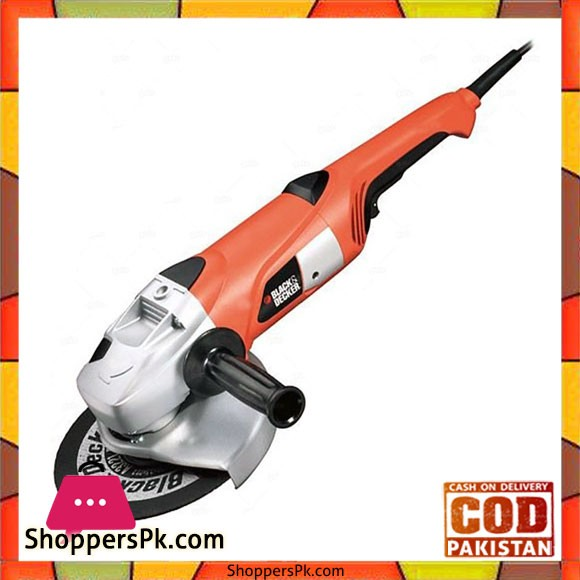 7 inch Angle Grinder 180Mm KG2001D - Black and Red