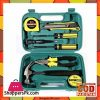 9 Pcs Tool Set Green