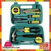 9 Pcs Tool Set for Home - Green