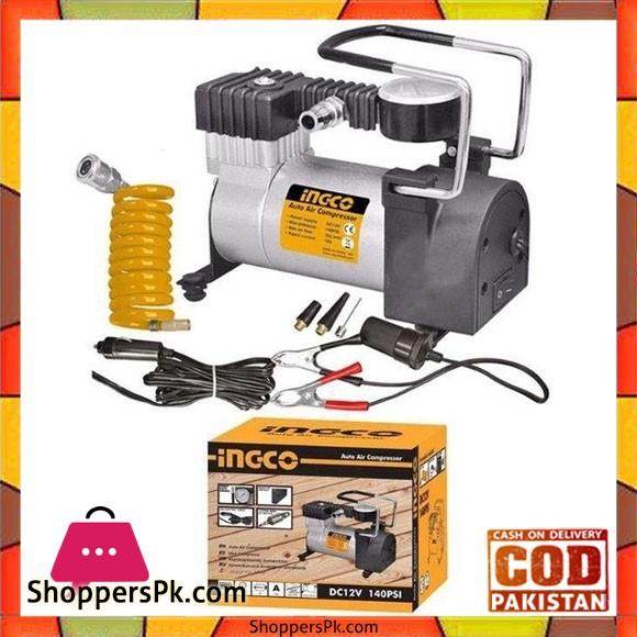 Ingco Auto Air Compressor 12V - HKTS0243