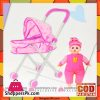 Baby Stroller and Doll Set ( Baby in Car)