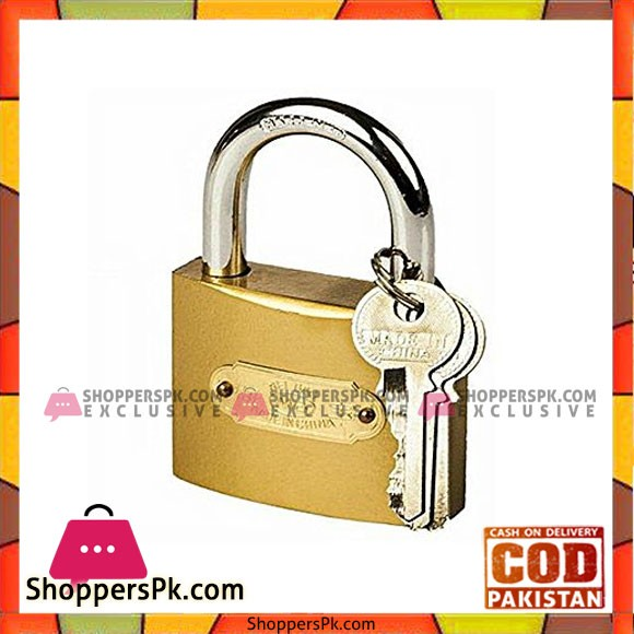 Big Door Lock Shutter - 2 keys - Hardened Padlock
