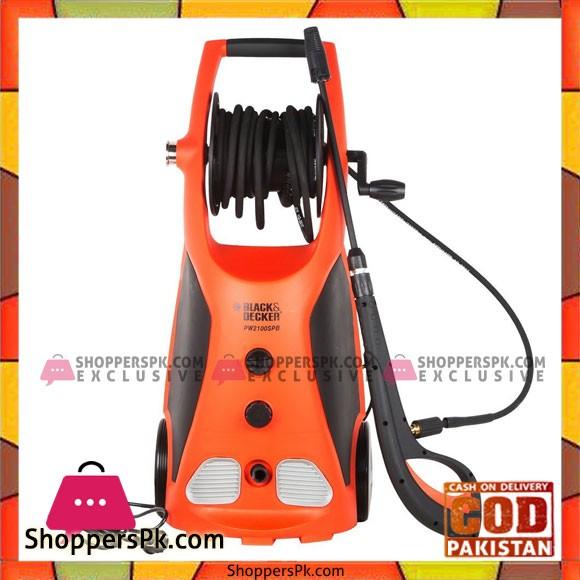 Black & Decker PW2100SPB High Pressure Washer 2100w 140bar Black & Decker