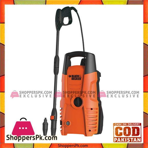 Black & Decker Pw1300Td - Shock Proof Pressure Washer - 1300w