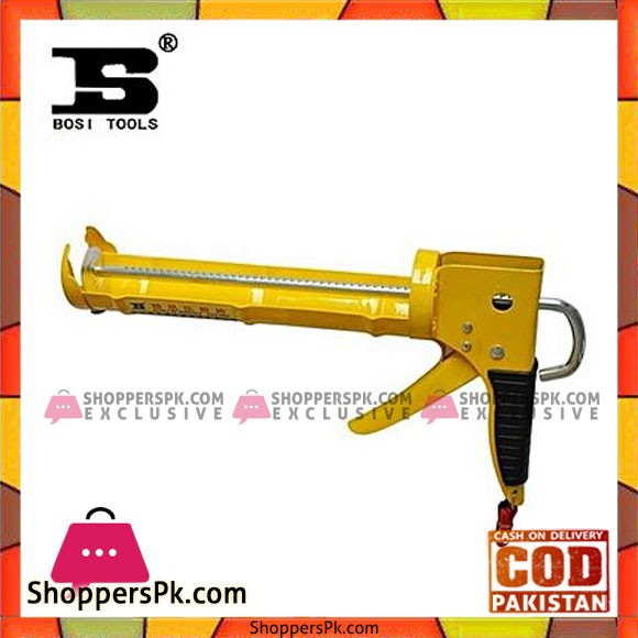 Bosi Bs323103 Caulking Gun-Yellow