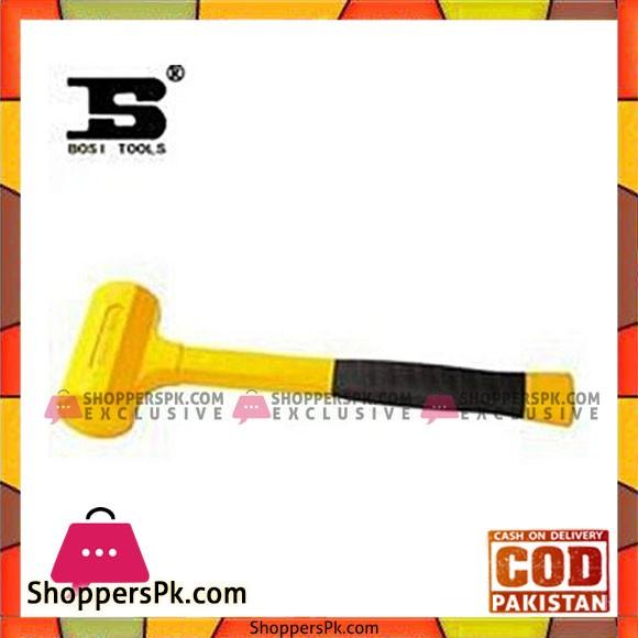 Bosi Bs3560803 Dead Blow Hammer 3 Lb-Yellow & Black