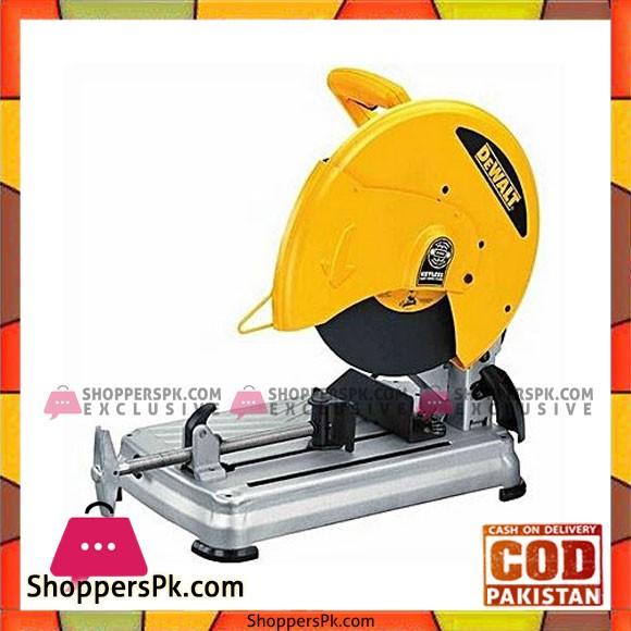 "Dewalt D28715 14"" Chop Saw W/ Quick-Changetm Keyless Blade Change System-Yellow & Silver"