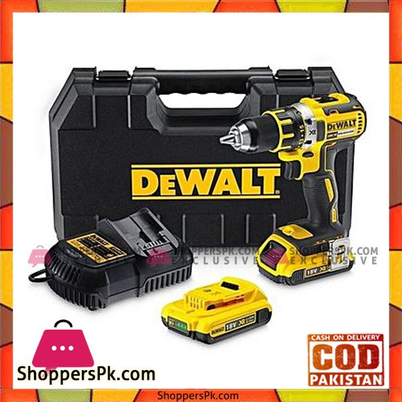 Dewalt Dcd790D2 20V Max* Xr Lithium Ion Brushless Compact Drill / Driver Kit-Yellow & Black
