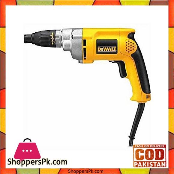 Dewalt Dw266 2,500 Rpm Vsr Depth-Sensitive Screwgun-Yellow & Black