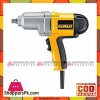 "Dewalt Dw292 Gb/Lx 1/2"" 13Mm Impact Wrench With Detent Pin Anvil-Yellow & Black"