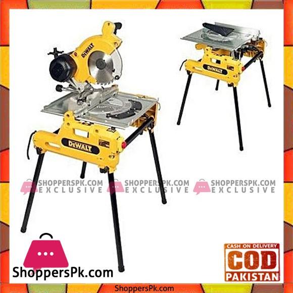 Dewalt Dw743N 250 Mm Combination Saw-Yellow & Silver
