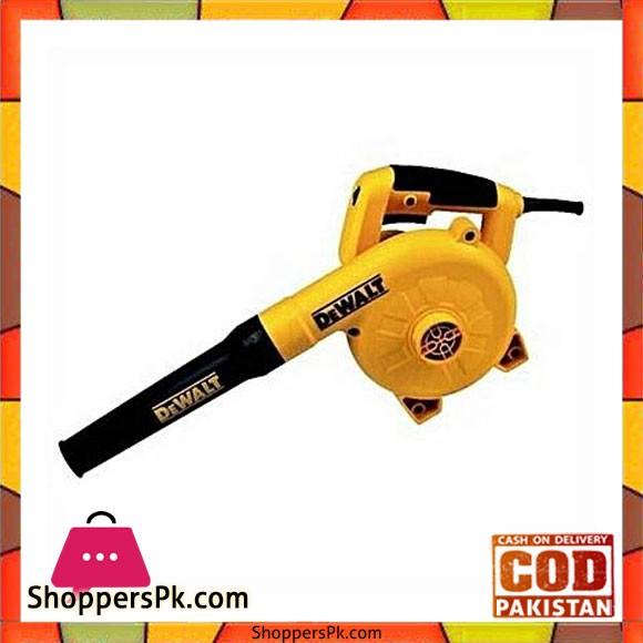 Dewalt Dwb800 800W-Corded Variable Speed Blower-Yellow & Black