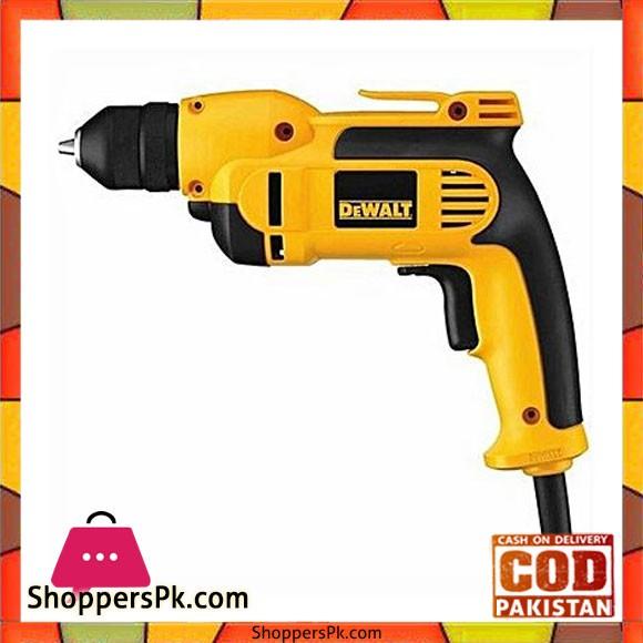 """Dewalt Dwd112-B5 3/8"""" 10Mm Vsr Pistol Grip Drill With Keyless Chuck-Yellow & Black"""