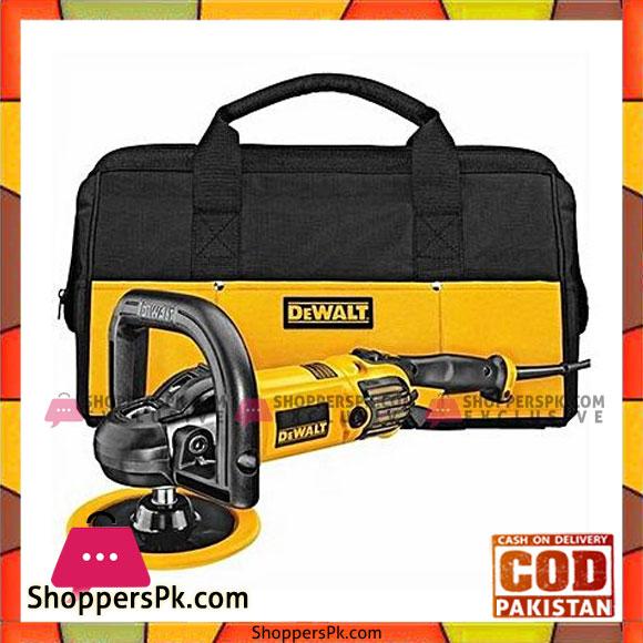 """Amazon Com Dewalt Dwp849x 7 Inch 9 Inch Variable Speed: Buy Dewalt Dwp849X 7"""" / 9"""" Variable Speed Polisher With"""