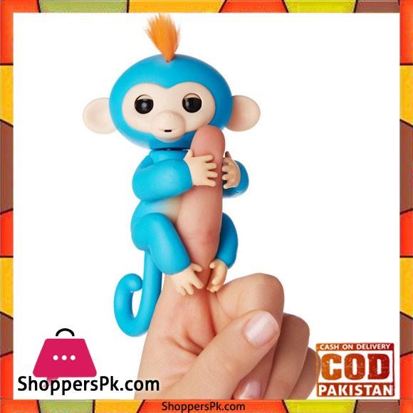 Fingerling Interactive Monkey Sound Finger Motion Toy Pet