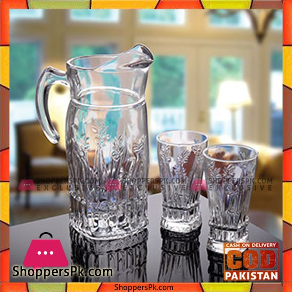 Flame Water Set 7 Piece