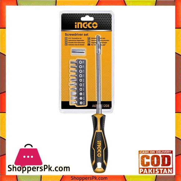 Flexible Shaft Screwdriver Set - Yellow
