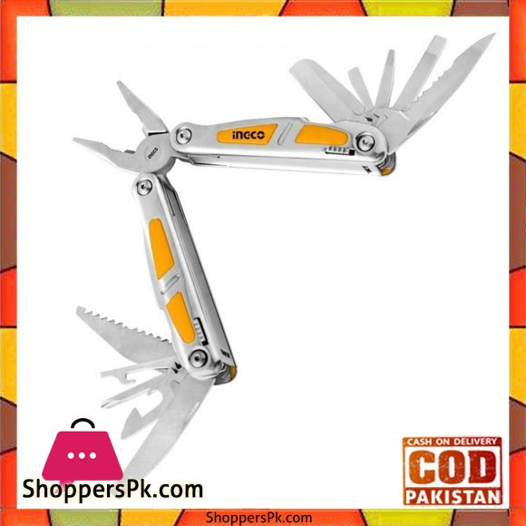 Foldable Multifunction Tool - Silver