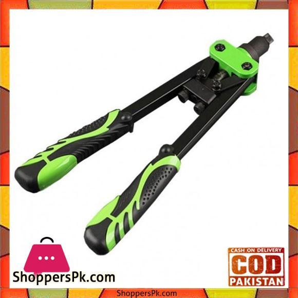 Hand Riveter Tool Gun 13 Inch - Black And Green