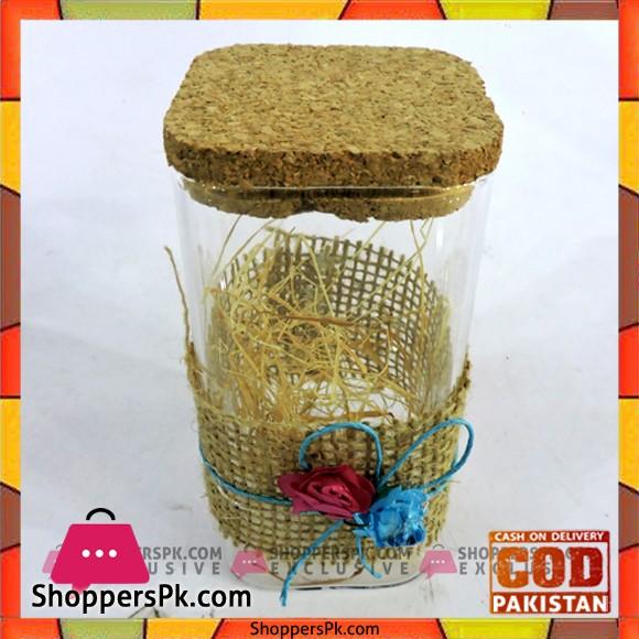 Home Decoration Sho Pice Glass Jar