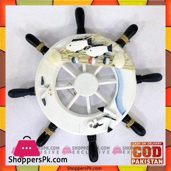 Home Decor Hanging Ship Steering Wheel Price in Pakistan
