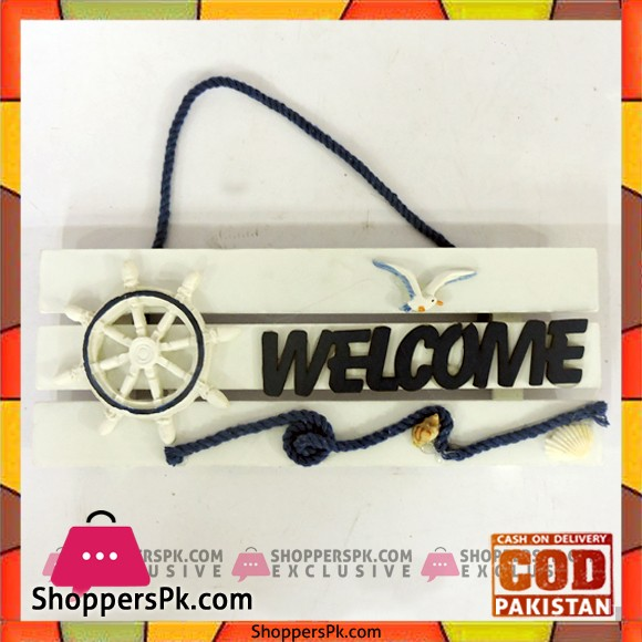 High Quality Fiber Welcome Door Plate
