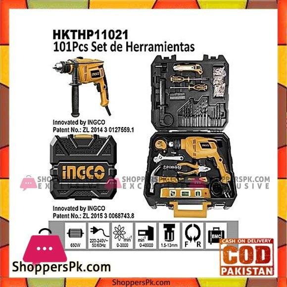 Ingco 101 Pcs Household Tool Set
